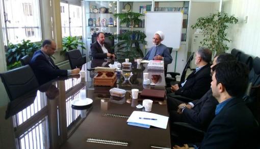 دیدار مدیر موسسه ترویج با معاونت پرورشی و فرهنگی اداره کل آموزش و پرورش شهر تهران