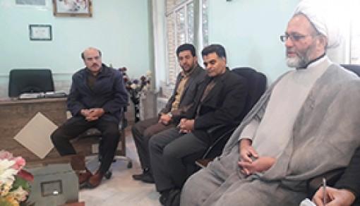 دیدار مدیر موسسه ترویج  از آموزش و پرورش شهر راین  کرمان