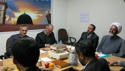 موسسه ترویج فرهنگ قرآنی برگزار کرد همایش مشترک روسای ادارات وکارشناسان قرآن اداره کل آموزش و پرورش شهر تهران