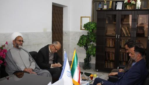 دیدار مدیر موسسه ترویج فرهنگ قرآنی با مدیرکل آموزش و پرورش استان قم